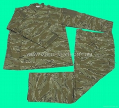 GP-MJ020 BDU Military Uniform Tiger Stripe