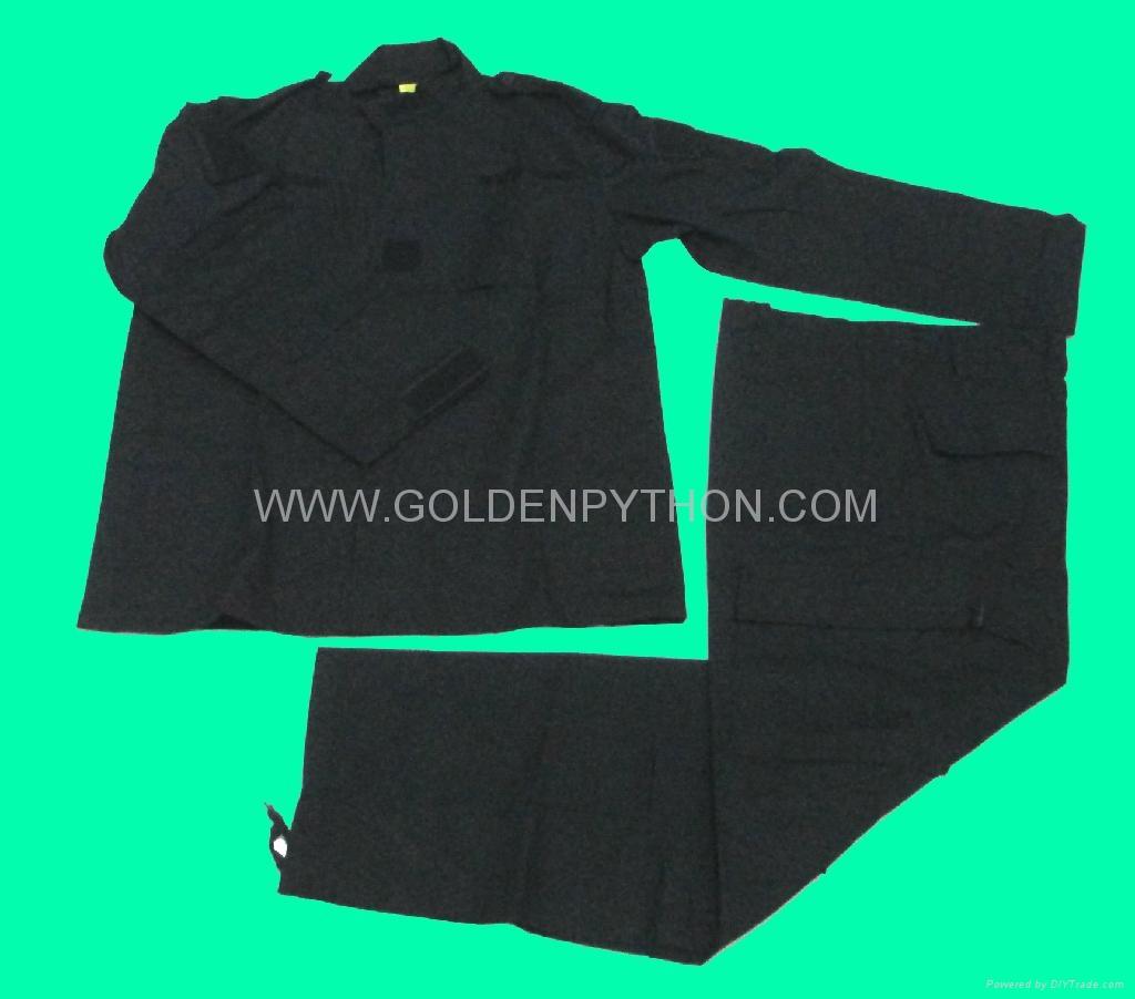 GP-MJ020 BDU Military Uniform  Black 1