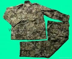 GP-MJ020 BDU Combat Uniform  Python stripe