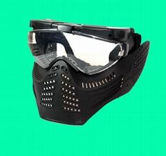 GP-MS006-2 Tokyo Fan Ventilation PRO GOGGLE Full Face Mask RG