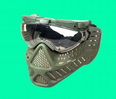 GP-MS006-3 Tokyo Fan Ventilation PRO GOGGLE Full Face Mask RG