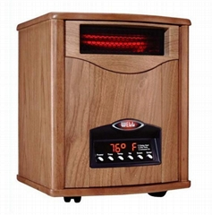 Portable quartz infrared heater