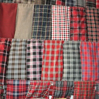 厂家直供优质色织格子布 1