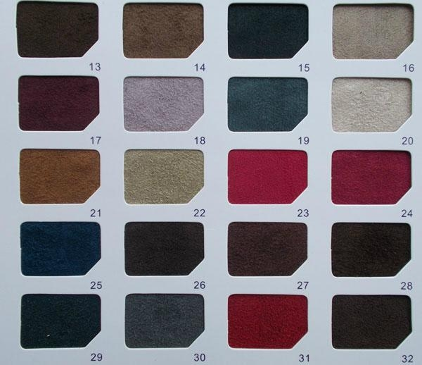 Manufacturers selling imitation suede chamois leather brown ve  et fabric 2