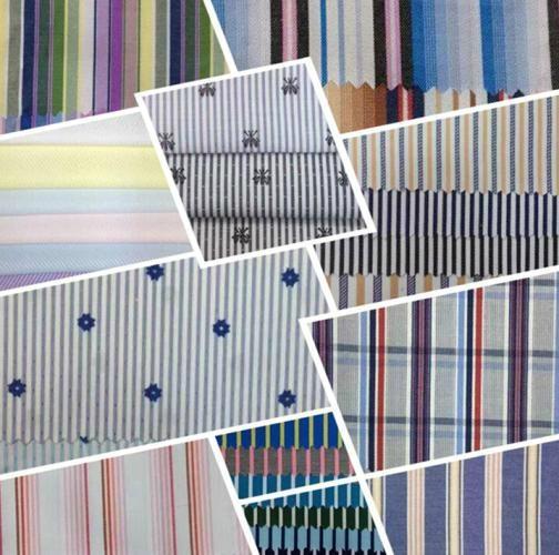 Yarn dyed cotton fabric cowboy stripe shirt fabric 2