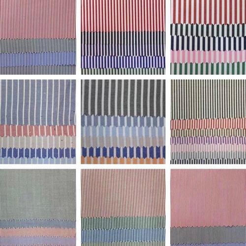 Yarn dyed cotton fabric cowboy stripe shirt fabric 4