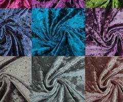 Ice velvet curtain cloth