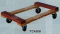 Wooden Dolly TC4308 with rubber protection