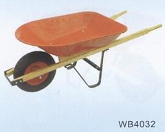 HARD WOOD HANDLE WHEELBARROW WB4032