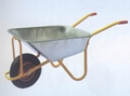 GALVANIZED TRAY WHEELBARROW WB5009