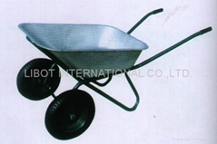 TWO RUBBER AIR WHEEL WHEELBARROW WB6404A (Hot Product - 1*)