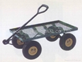 STEEL GARDEN MESH CART TC4206 1