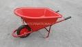 Plastic tray kids wheel barrow WB0200