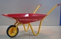 STEEL KIDS WHEELBARROW WB0100,SOLID WHEEL