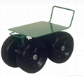 TOOLS STEEL GARDEN SEAT TC1405 WITH SOLID WHEEL