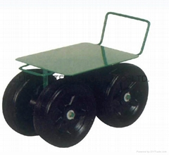 TOOLS STEEL GARDEN SEAT TC1405 WITH SOLID WHEEL
