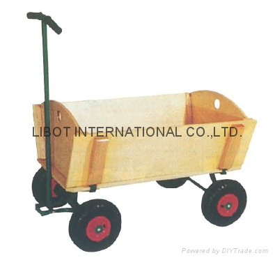 Hard wood Tool Cart TC1808M 1