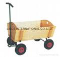 Hard wood Tool Cart TC1808M