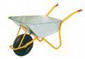 85L wheelbarrow with 4.00-8inch rubber air wheel