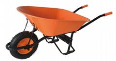 6CBF HEAVY DUTY WHEELBARROW with rubber air wheel