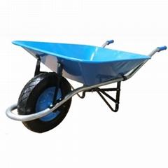 Tools 5CBF heavy duty wheelbarrow WB8000 with rubber wheel