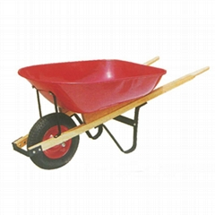 GARDEN TOOLS 6CBF WOODEN HANDLE WHEELBARROW WH6600