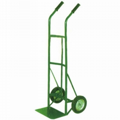 150KG STEEL CONSTRUCTION HAND TRUCK HT1545 with Solid Wheel
