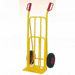 """HAND TRUCK HT1826 200KG LOAD CAPACITY WITH 10"""" RUBBER AIR WHEEL"""