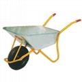 Tools 85L wheelbarrow with 4.00-8inch rubber air wheel