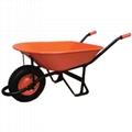 Garden 5.5CBF heavy duty wheelbarrow WB6000