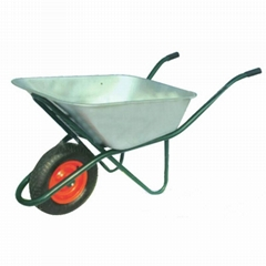 100L GALVANIZED TRAY WHEELBARROW WB6418