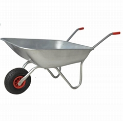 Economic Garden WHEELBARROW WB6204-1 with rubber pneumatic wheel (Hot Product - 1*)