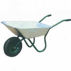 65L WHEELBARROW WB6204 WITH RUBBER AIR WHEEL