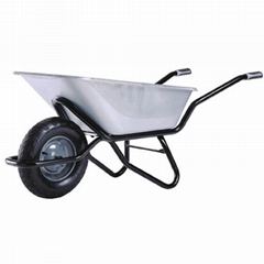 HEAVY DUTY WHEELBARROW WB6404-1 with rubber air wheel