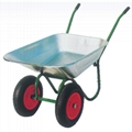 RUSSIA STYLE TWO WHEELS WHEELBARROW