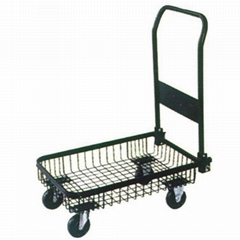 P SHAPE PLATFORM HANDTRUCK PH1556 WITH SOLID WHEEL
