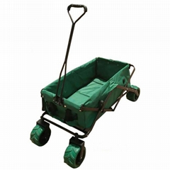 70KG FOALDING GARDEN WAGON TC1013 WITH PU WHEEL