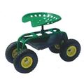 Garden Tools Steel Garden Seat TC1853 with rubber wheel