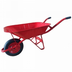 65L INDONESIA STYLE WHEELBARROW WITH RUBBER AIR WHEEL WB6201S-1