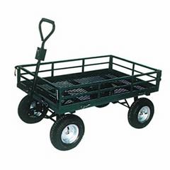Heavy Duty Garden Mesh Cart TC1859 with 5.00-6 Air Wheel