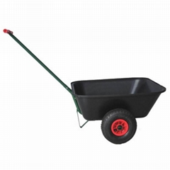 GARDEN TOOLS HAND PUSH CART WITH PP RIM