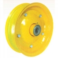 STEEL RIM WITH POWDER COATED SURFACE