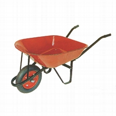 GARDEN TOOLS 5CBF STEEL WHEELBARROW WB7200 WITH POWDER COATED SURFACE