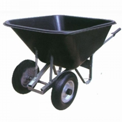 10CBF GARDENING TOOLS STEEL HANDLE WHEELBARROW WB9800