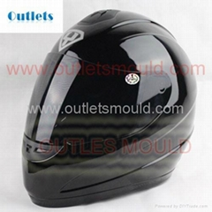Motorcycle helmet mold