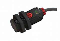 E3FA旋钮式M18圆柱形光电传感器