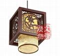中式羊皮吊燈 3