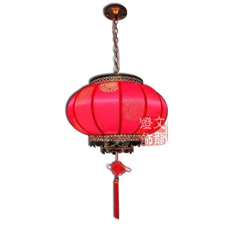 中式羊皮吊燈 4