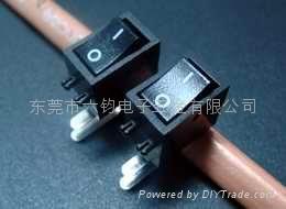 供应LEGION复印机传真机排插用船型开关 1