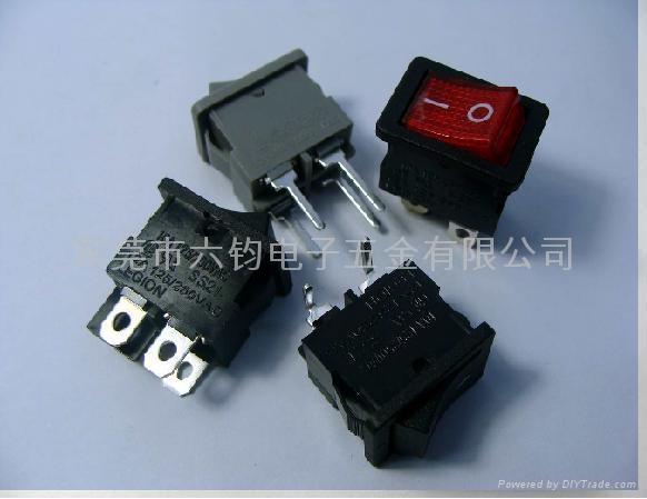 供应LEGION复印机传真机排插用船型开关 3